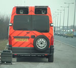 Police Mobile Speed Camera Van