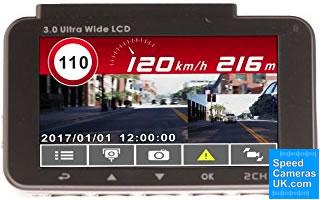 Snooper DVR-4HD Speed Camera Detector and Dash Cam