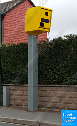 New digital Gatso speed camera